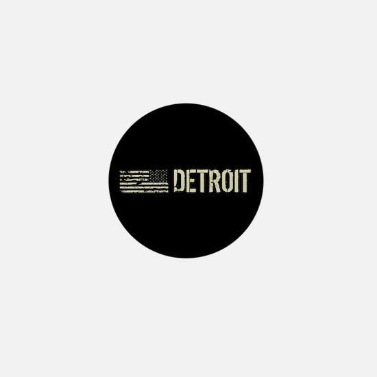 Black Flag: Detroit Mini Button