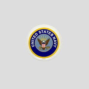 Navy-Logo-8-Blue Mini Button