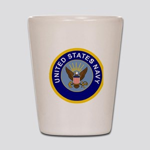 Navy-Logo-8-Blue Shot Glass