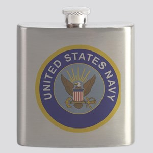 Navy-Logo-8-Blue Flask