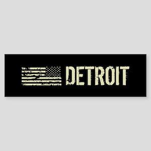Black Flag: Detroit Sticker (Bumper)