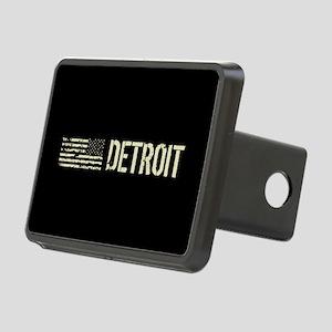 Black Flag: Detroit Rectangular Hitch Cover