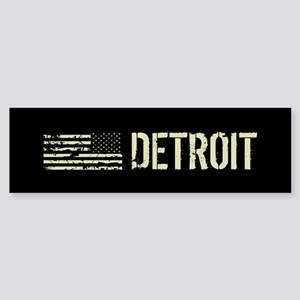Black Flag: Detroit Sticker (Bumper)