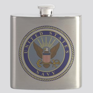 Navy-Logo-9 Flask
