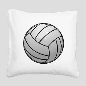Volleyball Square Canvas Pillow