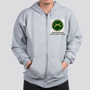 Army-519th-MP-Bn-Shirt-4 Zip Hoodie