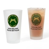 519th military police battalion Drinking Glass