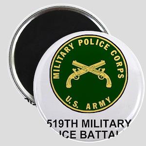 Army-519th-MP-Bn-Shirt-4 Magnet