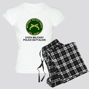 Army-519th-MP-Bn-Shirt-4.gi Women's Light Pajamas