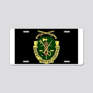Army-519th-MP-Bn-Cap-6 Aluminum License Plate