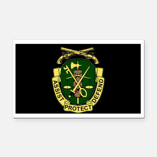 Army-519th-MP-Bn-Cap-6.gif Rectangle Car Magnet