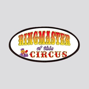 Circus Ringmaster Patches