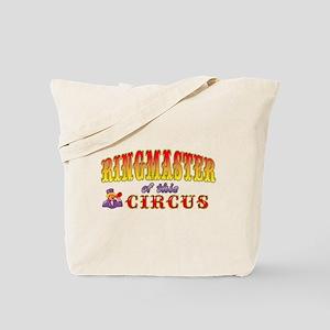 Circus Ringmaster Tote Bag