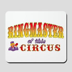 Circus Ringmaster Mousepad
