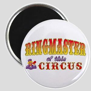 Circus Ringmaster Magnet