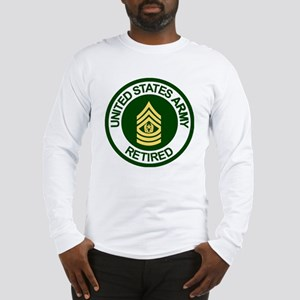 Army-Retired-CSM-Rank-Ring-2.g Long Sleeve T-Shirt
