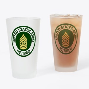 Army-Retired-CSM-Rank-Ring-2.gif Drinking Glass