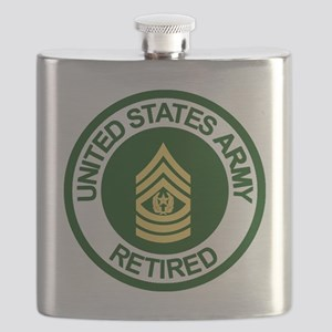 Army-Retired-CSM-Rank-Ring-2 Flask