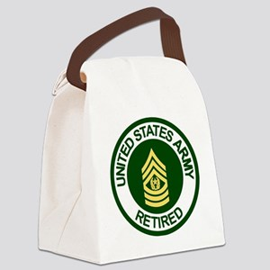 Army-Retired-CSM-Rank-Ring-2 Canvas Lunch Bag