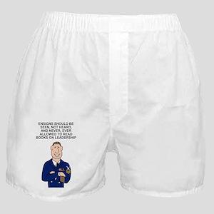 Navy-Humor-Ensigns-Poster-E9 Boxer Shorts