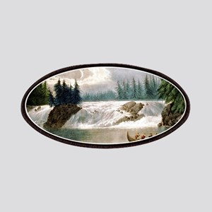 Falls of the Ottawa River Canada - 1856 Patch