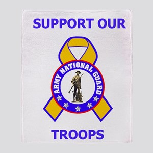 ARNG-Support-Small-Poster Throw Blanket