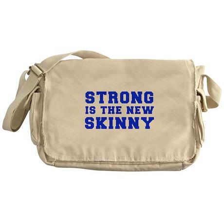 strong-is-the-new-skinny-fresh-blue Messenger Bag