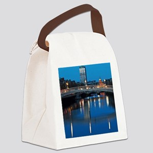 Dublin at night Canvas Lunch Bag