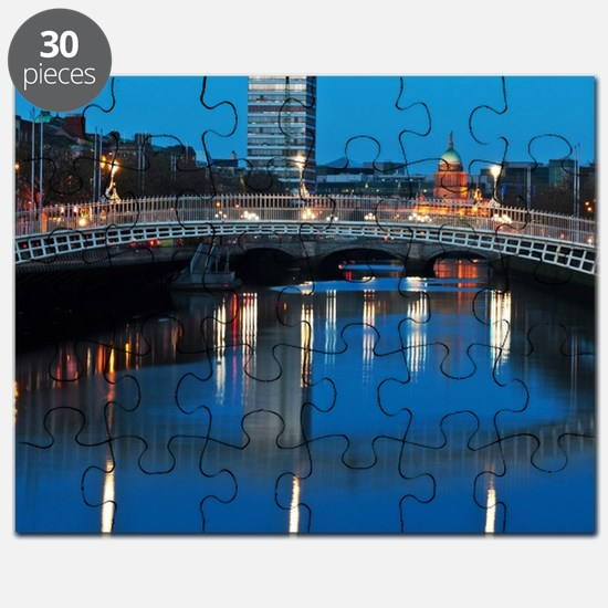Dublin at night Puzzle