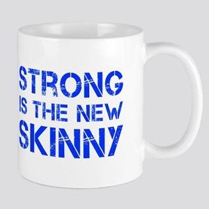 strong-is-the-new-skinny-cap-blue Mug