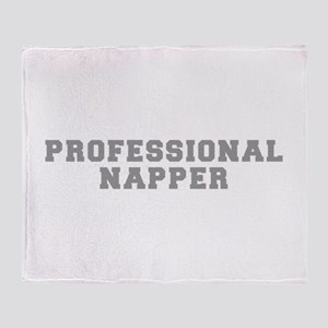 professional-napper-fresh-gray Throw Blanket