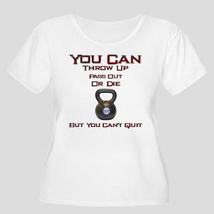 No Quit Plus Size T-Shirt