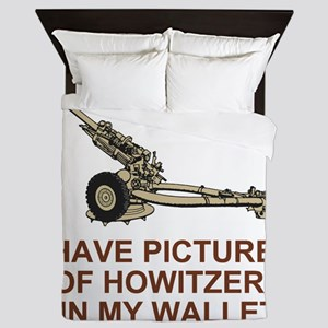 ARNG-120th-FA-Shirt-Pictures Queen Duvet