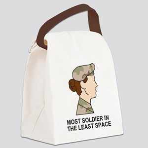 Army-Most-Soldier-Redhead Canvas Lunch Bag