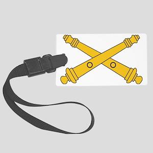 Army-Artillery-Branch-Insignia-B Large Luggage Tag