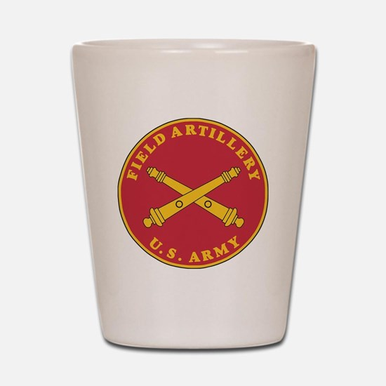 Army-Artillery-Branch-Plaque-Bonnie.gif Shot Glass