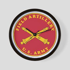 Army-Artillery-Branch-Plaque-Bonnie Wall Clock