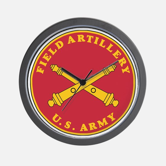 Army-Artillery-Branch-Plaque-Bonnie.gif Wall Clock