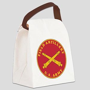 Army-Artillery-Branch-Plaque-Bonn Canvas Lunch Bag