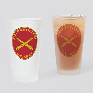 Army-Artillery-Branch-Plaque-Bonnie Drinking Glass