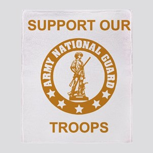 arng-support-gold Throw Blanket