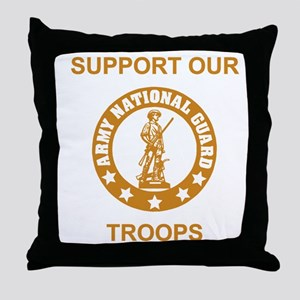 arng-support-gold Throw Pillow