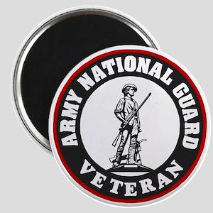 ARNG-Veteran-Black-Red Magnet