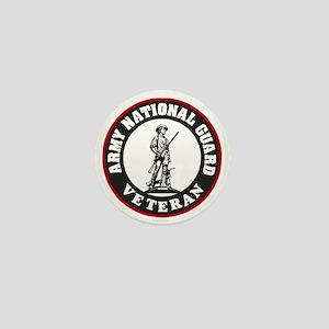 ARNG-Veteran-Black-Red Mini Button