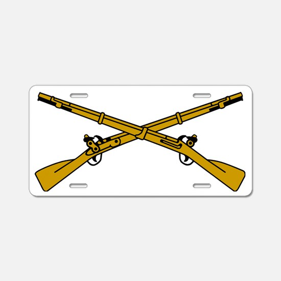 Army-Infantry-Insignia-2.gi Aluminum License Plate