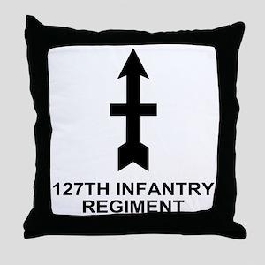 ARNG-127th-Infantry-Shirt-11-Black.gi Throw Pillow