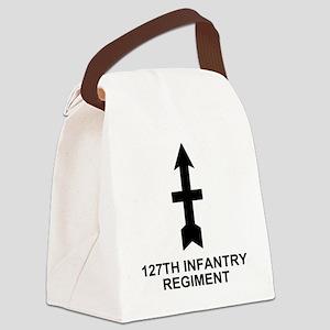 ARNG-127th-Infantry-Shirt-11-Blac Canvas Lunch Bag