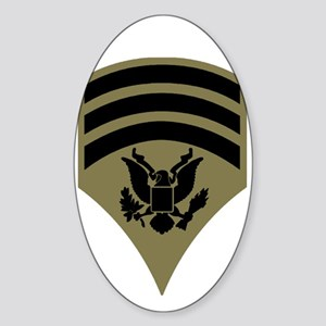 army-spec7-subdued Sticker (Oval)