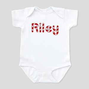 Riley - Candy Cane Infant Bodysuit
