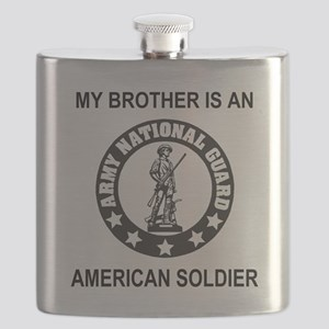 ARNG-My-Brother-Black Flask